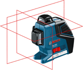 LASER LINIOWY GLL 3-80 P Professional BOSCH