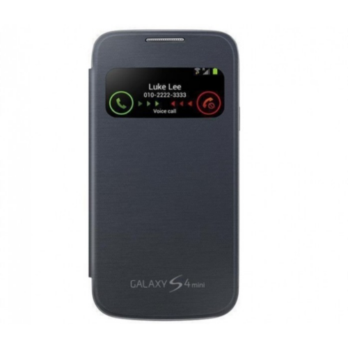 Etui SAMSUNG do Galaxy S4 Mini S View Cover - czarny