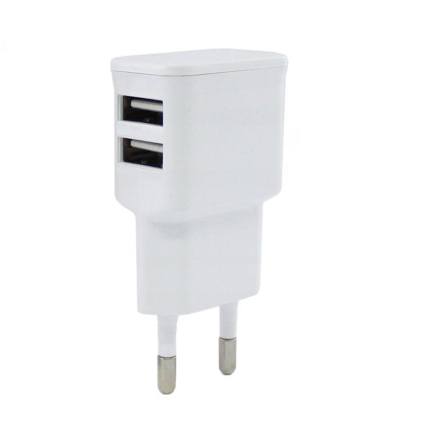 UNIWERSALNA ŁADOWARKA SIECIOWA 2x USB 2A